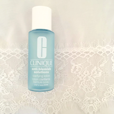 clinique anti blemish clarifying lotion