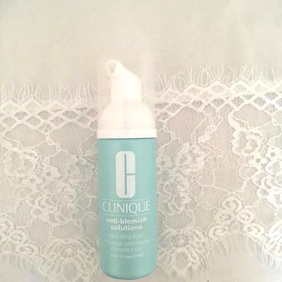 clinique anti blemish cleansing foam